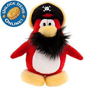 Club Penguin 6 1/2 Limited Edition Penguin Plush - Captain Rockhopper
