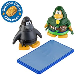 Club Penguin 2 Mix N Match Figure Pack -- Ranger and Ninja