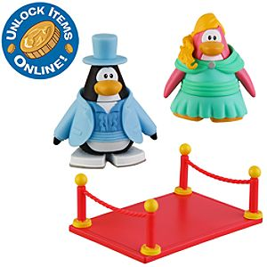 Club Penguin 2 Mix N Match Figure Pack -- Prom Girl and Tuxedo Guy