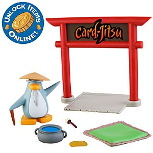 Club Penguin 2 Mix N Match Figure Pack -- Sensei with accessories