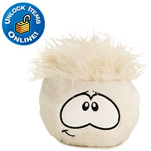 Club Penguin 6 White Pet Puffle