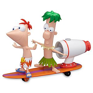 Phineas and Ferb Surfin' Tidal Wave Figurine Play Set -- 2-Pc.