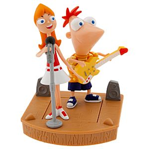 Phineas and Ferb: Phineas & Candace Rockin Stage Play Set -- 2-Pc.
