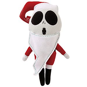 Pook-a-Looz Santa Jack Skellington Plush Toy -- 12