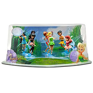 Tinker Bell and the Great Fairy Rescue Figurine Play Set -- 6-Pc.