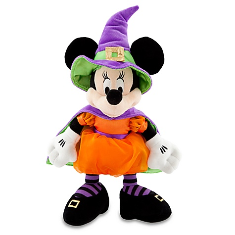 Personalized Witch Minnie Mouse Plush Toy