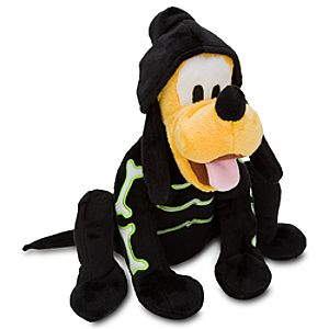 Halloween Skeleton Pluto Plush -- 9