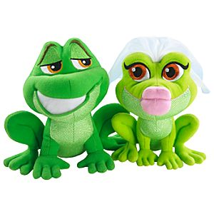 Magic Kiss The Princess and the Frog Plush Toy Set by Mattel -- 2-Pc.