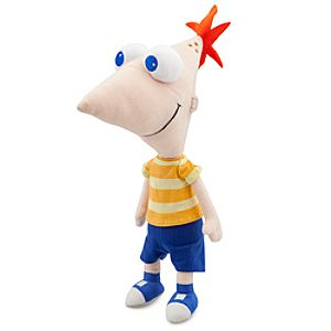 Phineas and Ferb Phineas Plush -- 14''