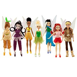 Disney Fairies Dolls Collector Pack -- 7-Pc.