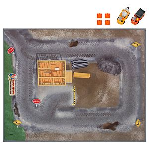 Handy Manny Playmat with Press and Go Vehicles