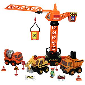 Construction Site Handy Manny Play Set