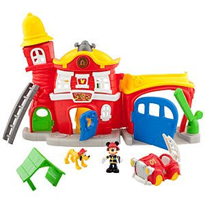 Mickey Mouse Clubhouse Mickeys Fire Station Play Set
