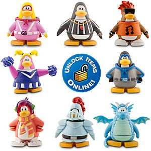 Club Penguin 8 Pack Assortment - 2 Mix N Match Figures