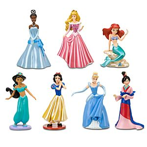Disney Princess Figure Play Set #1 -- 7-Pc.