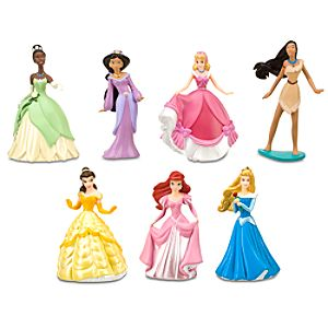Disney Princess Figure Play Set #2    7 Pc.