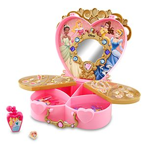 Disney Princess Glamour Case Play Set -- 12-Pc.