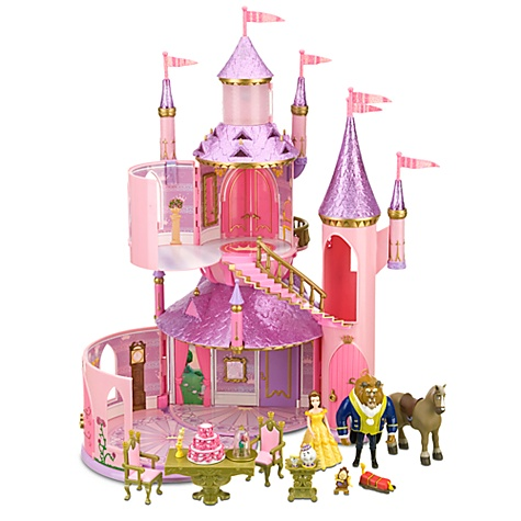 Belle's Enchanted Castle Play Set