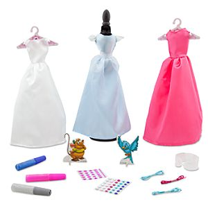 Cinderella Dress Making Set -- 21-Pc.