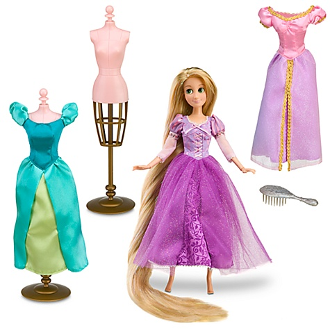 Tangled Rapunzel Boutique Set -- 7-Pc.