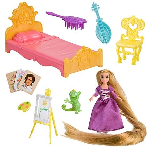 New Disney Store Tangled Rapunzel Musical Brush Set