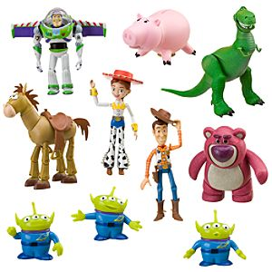 Toy Story Deluxe Action Figure Set -- 10-Pc.
