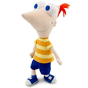 Talking Phineas Plush Toy -- 14 H