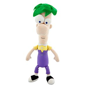Talking Ferb Plush Toy -- 16 H