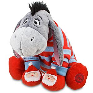 Christmas Morning Eeyore Plush -- 10 H