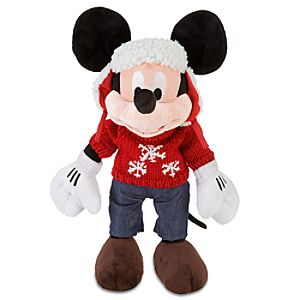 Cozy Cables Mickey Mouse Plush Toy -- 17