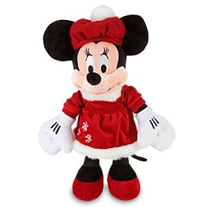 Cozy Cables Minnie Mouse Plush Toy -- 17