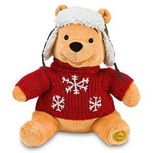 Cozy Cables Pooh Plush Toy -- 16