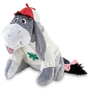 Cozy Cables Eeyore Plush Toy -- 11