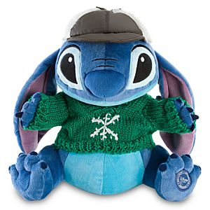 Cozy Cables Stitch Plush Toy -- 11