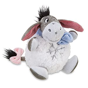 Mini Snowball Eeyore Beanie Baby Plush Toy -- 6