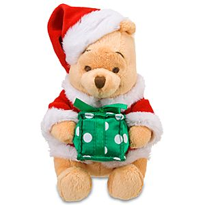 Mini Decorating Party Pooh Beanie Baby Plush Toy -- 8