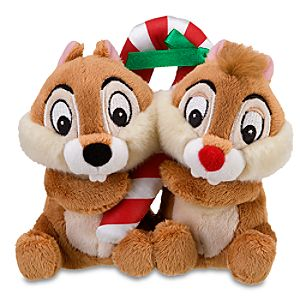 Mini Decorating Party Chip an Dale Beanie Baby Plush Toy -- 5