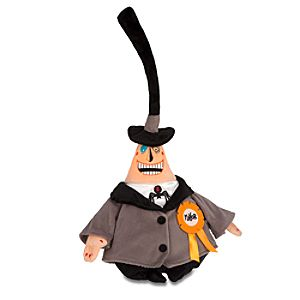 Tim Burtons The Nightmare Before Christmas Mayor Plush -- 18