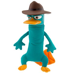 Gabble Head Phineas and Ferb Plush -- Perry