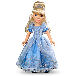 First Edition Princess and Me Cinderella Doll -- 18