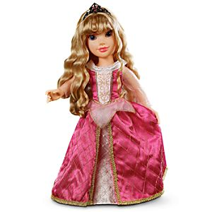 First Edition Princess and Me Aurora Doll -- 18