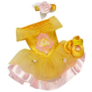 Princess and Me Belle Ballet Recital Costume Set -- 4-Pc.