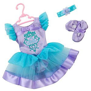Princess and Me Ariel Ballet Recital Costume Set -- 4-Pc.