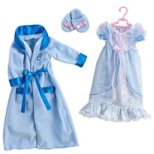 Princess and Me Cinderella Royal Sleepwear Ensemble -- 4-Pc.