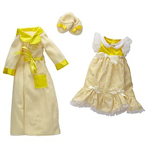 Princess and Me Belle Royal Sleepwear Ensemble -- 4-Pc.