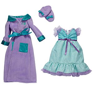 Princess and Me Ariel Royal Sleepwear Ensemble -- 4-Pc.