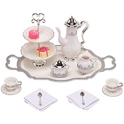 Princess and Me Tea for Two Tea Set -- 15-Pc.