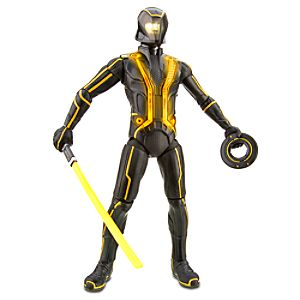 Light Up Talking Deluxe Clu TRON Action Figure -- 7