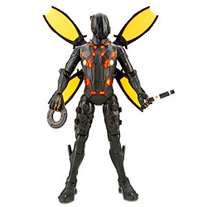 Light Up Deluxe Black Guard TRON Action Figure -- 7 1/2