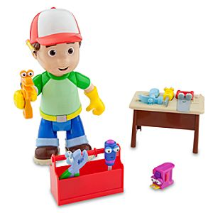 Talking Handy Manny Figure